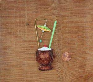 tiki coconut drink